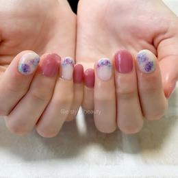 紫陽花ネイル|e-style 豊川店 -Nail-のネイル