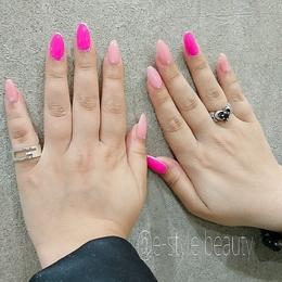 ピンクネイル|e-style 豊川店 -Nail-のネイル
