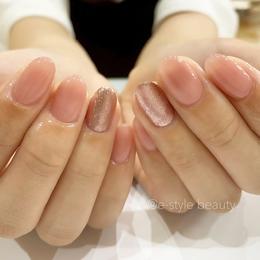 ワンカラー ネイル|e-style 豊川店 -Nail-のネイル
