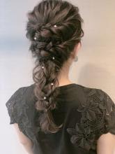あみおろし|LuLu 池袋  柳井 里美のヘアスタイル