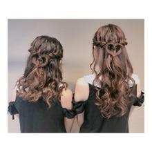ハーフアップ|LuLu 池袋  柳井 里美のヘアスタイル