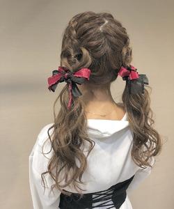 ツインテール|LuLu 池袋 のヘアスタイル