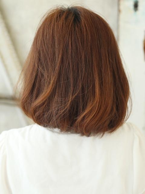 ふわりグラカラーx大人内巻きスタイル【ブラウン】