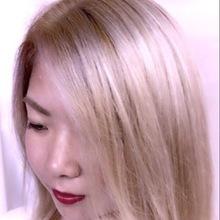 ミルキーベージュ|emi+ Hair & eyelash 練馬 めぐ☆のヘアスタイル