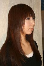 サラ艶☆ストレート|hair make ARTISANのヘアスタイル