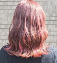 チェリーピンク×ホットピンク|e-style Lienのヘアスタイル