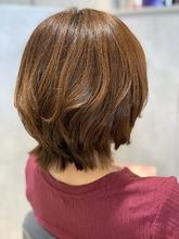 ミセスショートレイヤー|e-style Lienのヘアスタイル