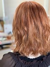 アプリコットオレンジ|e-style Lien 牧野 北斗のヘアスタイル
