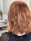 アプリコットオレンジ|e-style Lienのヘアスタイル