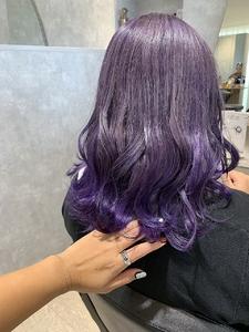 同系色の明度差グラデーションカラー|e-style Lienのヘアスタイル