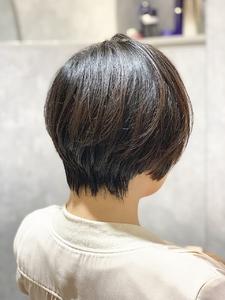 レイヤーショートカット|e-style Lienのヘアスタイル