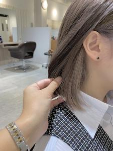 インナーホワイトアッシュ|e-style Lienのヘアスタイル