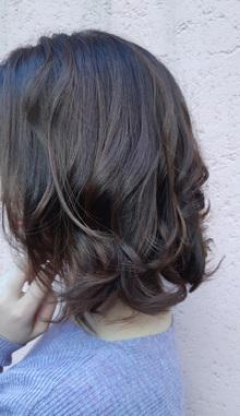 ふんわりエアリー感あるパーマスタイル|suite salon fluffのヘアスタイル
