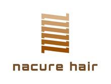 nacure hair  | ナクレヘアー  のロゴ