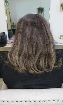 バレイヤージュカラー|nacure hairのヘアスタイル