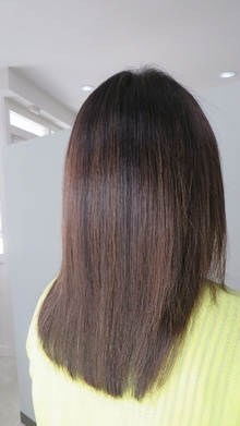 ハイライト+アロマハーブカラー|nacure hairのヘアスタイル