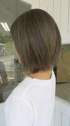 オリーブ系カラー|nacure hairのヘアスタイル