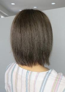 アッシュグレーカラー|nacure hairのヘアスタイル