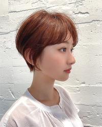 ショートマニッシュ美髪