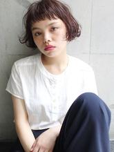 ベビーバング × ショートボブ #フレンチボブ|alloy 松本 匡介のヘアスタイル