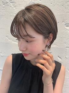 ショートマニッシュ美髪 alloyのヘアスタイル