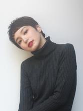 マニッシュショート × ショートバング|alloy 松本 匡介のヘアスタイル