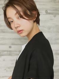 マニッシュショート美髪