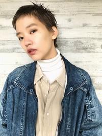 マニッシュベリーショート美髪