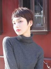 マルサラカラー×マニッシュショート|alloy 松本 匡介のヘアスタイル