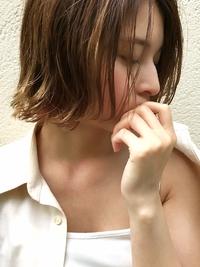 マニッシュフレンチボブ美髪