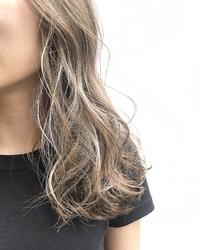 極細 × うぶ毛ハイライト