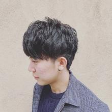 マッシュショート|MATISSE 石尾 刻矢のメンズヘアスタイル