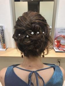お呼ばれセット|MATISSEのヘアスタイル