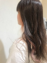 インナーカラーピンク|MATISSEのヘアスタイル