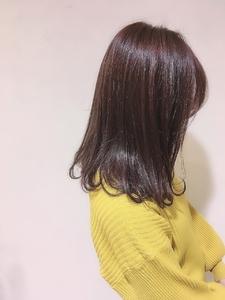ワンレングス MATISSEのヘアスタイル