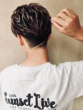 刈り上げショート|MATISSE 井手 威大理のメンズヘアスタイル
