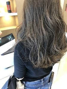 ハイライト3Dカラー MATISSEのヘアスタイル