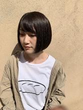 ミニボブ|MATISSE 石尾 刻矢のヘアスタイル
