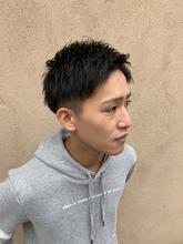 アップバングショート|MATISSE 石尾 刻矢のメンズヘアスタイル