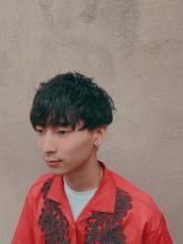 マッシュパーマ|MATISSE 石尾 刻矢のメンズヘアスタイル
