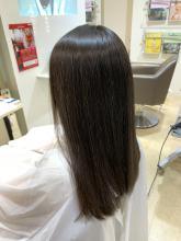 【うるつや】ナチュラルストレート|MATISSE 石尾 刻矢のヘアスタイル