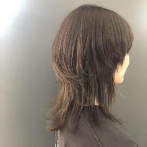 マッシュウルフ レイヤー|healing salon Casaのヘアスタイル