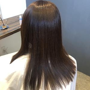 ヘアエステ エステトリートメント 艶カラー|healing salon Casaのヘアスタイル