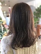 ショコラブラウン 透明感カラー 地毛風カラー healing salon Casa 小嶋 美咲のヘアスタイル