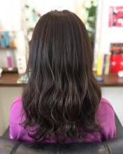 ラベンダーピンク ラベンダーカラー healing salon Casa 小嶋 美咲のヘアスタイル
