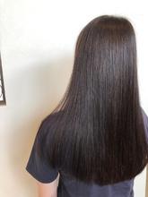 つや髪ロング さらさらストレート|healing salon Casa 小嶋 美咲のヘアスタイル