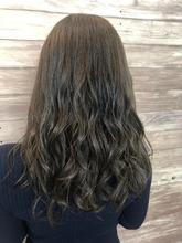 ショコラグレージュ 透明感カラー 地毛風カラー|healing salon Casaのヘアスタイル