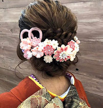 成人式ヘアセット|healing salon Casaのヘアスタイル