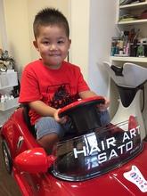 短めにスッキリと!|HAIR ART SATOのヘアスタイル