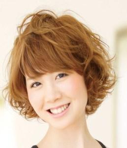 ゆるふわショート|HAIR SALON SATOSHIのヘアスタイル